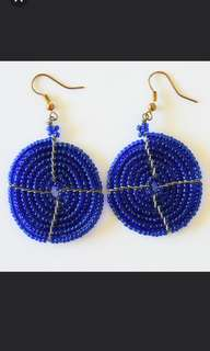 Afrix ocean blue earrings