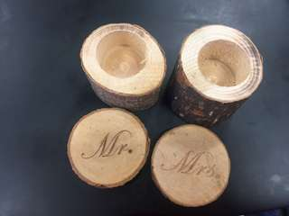 Wedding band boxes