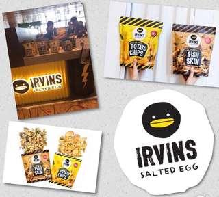 Irvin's Salted Egg