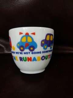 車仔The Runabouts  日本絕版1993陶瓷杯(A)