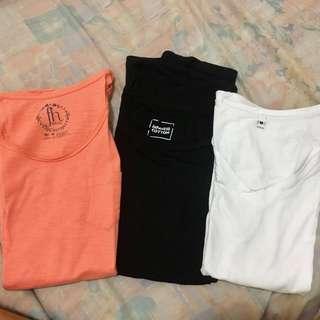 Plain shirts bundle