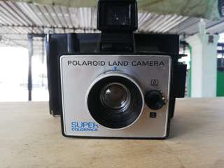 Polaroid Land Camera Super Colorpack