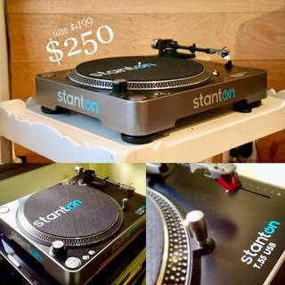 Stanton Audiophile Quality Turntable w/Built-in Phono Stage Pre-Amp (UP $499) WAREHOUSE PRICE $250