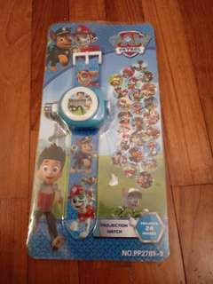 BNIP Paw Patrol Projection Watch