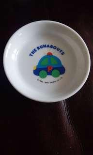 車仔The Runabouts  日本絕版1990陶瓷碟仔