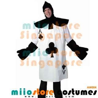 RENT/BUY Playing Cards Ace of Clubs Costume