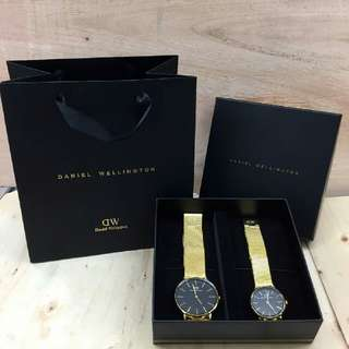 DW Premium DW Couple Watch - Complete Set Preorder Only