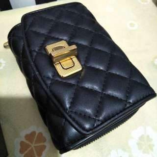Charles & Keith black wallet
