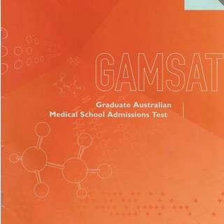 ✔️GAMSAT Preparation TEXTBOOK *Free PDFs