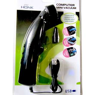 迷你電腦吸塵機 - USB Mini Vacuum Cleaner Specialized Notebook PC Cleaner - Ref A0495