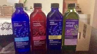 Bath and massage oil
