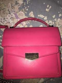 Charles n keith postman bag