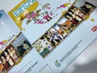Social studies 6B textbook and activity book