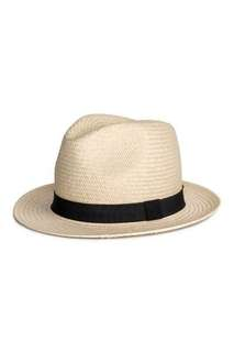 H&M straw hat 草帽 (新)