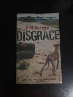 Disgrace by JM Coetzee