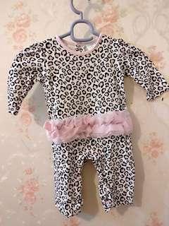 Jumpsuit bayi uk 6-9 bulan