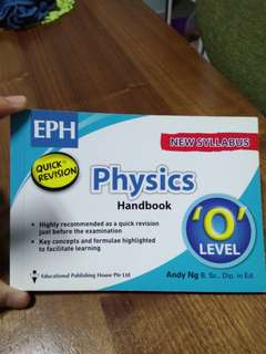 Physics `O` level handbook