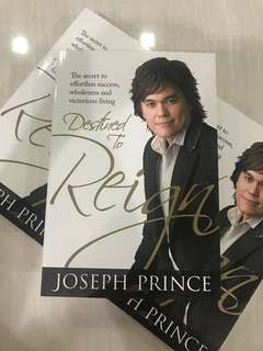 [Brand New + Free Mailing] Joseph Prince Destined To Reign