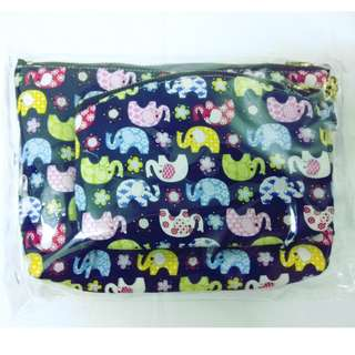 $7 for 2 - Makeup/toiletries pouch