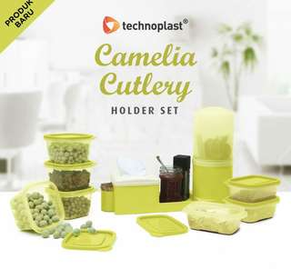 Camelia cutlery