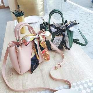 Rm24 Ribbon Sling Bag