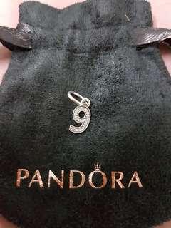 Pandora Charm No 9