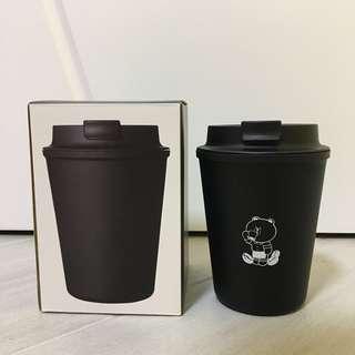 Line friends Brown 日本限定耐熱黑色咖啡杯[特價]
