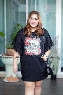 Pre-orderplus size shirt dress
