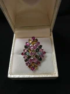 Exquisite Tourmaline Ring