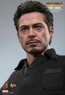 WTS Hot toys Tony stark figure only from arc reactor set (Mint)