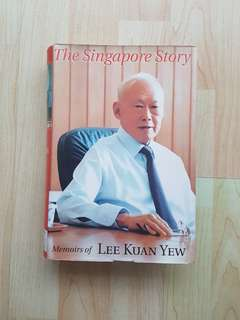 The Singapore Story : Memoirs of Lee Kuan Yew Hardcover