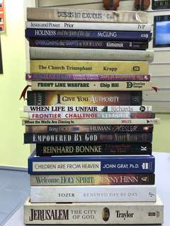 Christian books - Assorted
