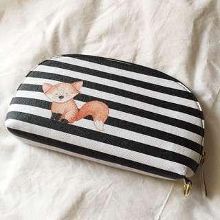 Stripes Clutch