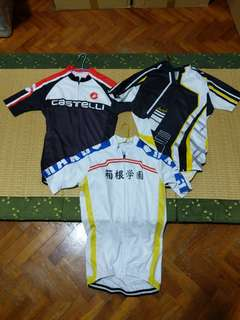 Assorted Cycling Jerseys S / M size
