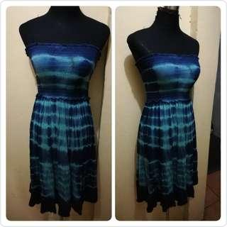 Tie dye tube/skirt