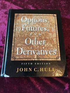 Options, Futures and Other Derivatives by John Hull - finance textbook 金融教科書