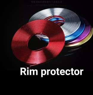Car van rim protector