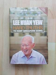 Hard Truths to Keep Singapore Going Hardcover Lee Kuan Yew with DVD