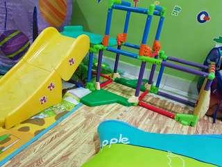 Winnie the pooh disney slide gym