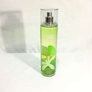 White Citrus Bath and Body Works Fragrance Mist