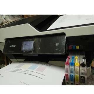 [二手良品]Brother MFC-J3720 A3噴墨多功傳真複合機 列印9000多張 全都正常