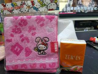正版sanrio hello kitty手巾