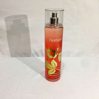 Pearberry Bath and Body Works Fragrance Mist