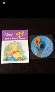 Disney Winnie The Pooh : Pooh's Rumble Tummy With CD (Read along with CD book)