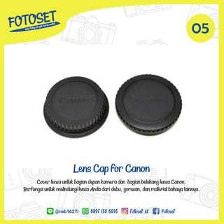 Lens Cap for Canon