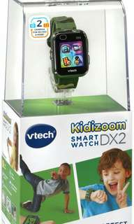 VTech Kidizoom Smartwatch Watch Camouflage Special Limited Edition
