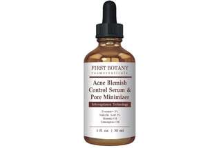 [IN-STOCK] First Botany Cosmeceuticals Acne Blemish Control Serum & Pore Minimizer 1 fl. oz - Best Acne Treatment & Anti Acne Serum - Visibly Reduces Blemishes & Pore Reducer