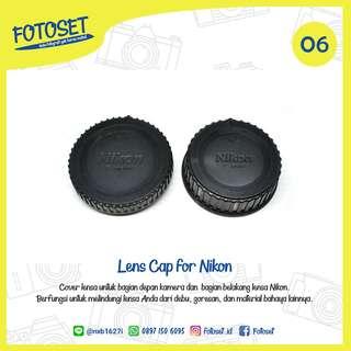 Lens Cap for Nikon