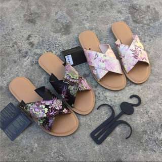 Floral Slippers (36-41)