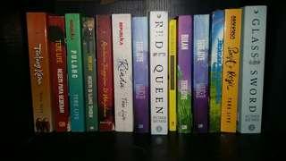 Buku Tere Liye, Victoria Aveyard, Ayudia Bing Slamet Murah